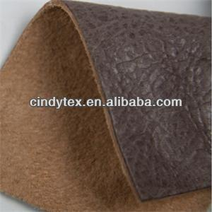 soft and worm real cow leather fabric for sofas