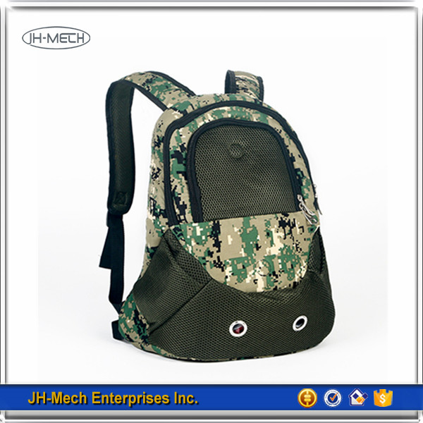 2017 hot sale unique pattern backpack pet carrier airline approved
