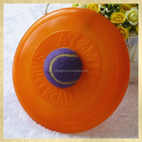 New pet products plastic Flying Disc frisbee toy for dog