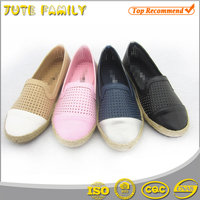 China supplier thick sole canvas shoe maker high quality