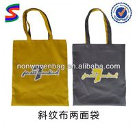 Canvas Newspaper Bag Embroidery Canvas Bags