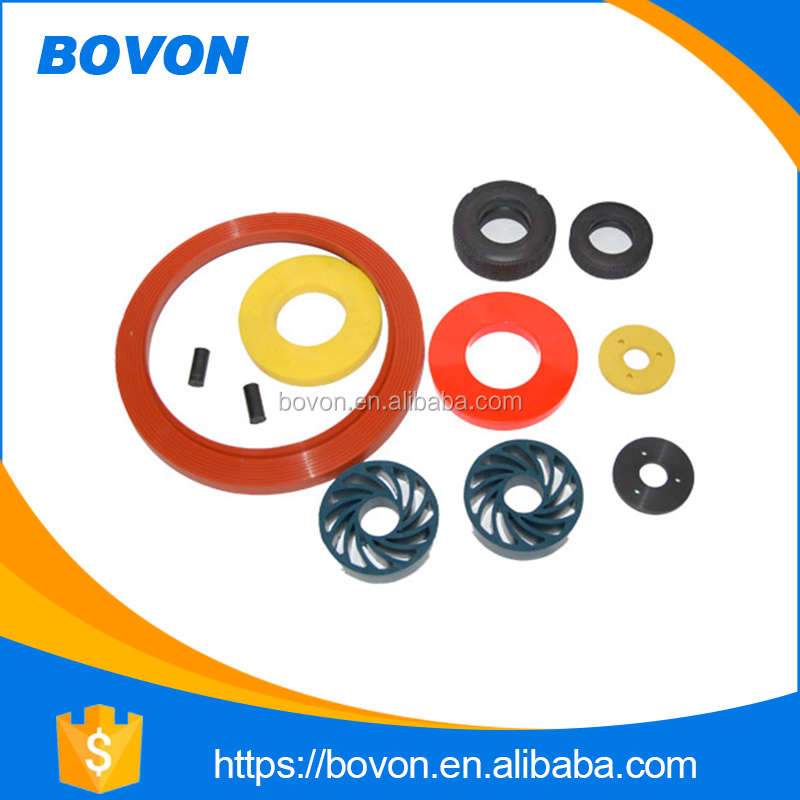 custom rubber to metal bonded parts