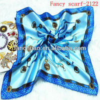 Wholesale satin scarf in stock
