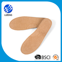 Anti sweat padded leather custom shoe insole for causal shoes