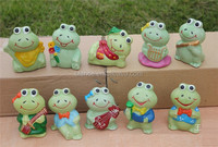 ceramic frog figurine for children gift toy