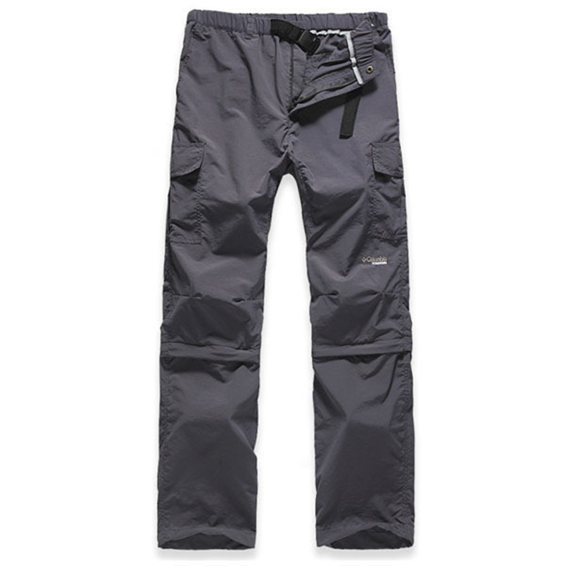 MOON BUNNY Summer New 2016 men pants Outdoor camping Quick Dry UV Resistant Fast Drying Speed Dry Active Pant for man soprt trou