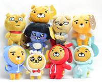 Hot Sale Funny Cute Kakao Friends Stuffed Plush Home Decoration Manufacturer supply Kaokao Friend plush Toys