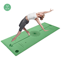 Wholesale Professional pu+ nature rubber yoga mat for hot yoga use