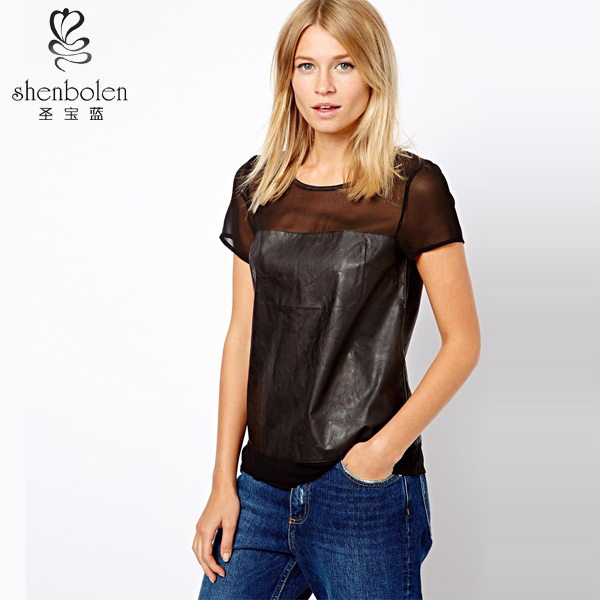 Sexy Low Cut Womens Tops 25