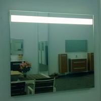 modern bathroom venetian wall mirror