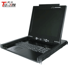 "1 Ports KVM Console with 19"" TFT LCD KVM Switch for Wholesale"