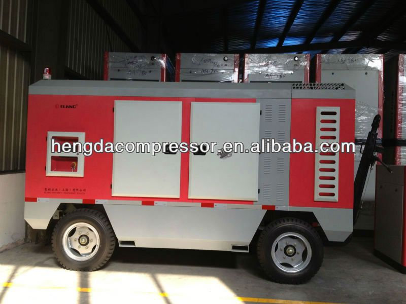Low-High Pressure 0.8Mpa 250kw portable electeic screw air compressor series