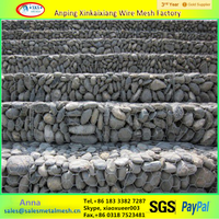 2016 ASTM A975 Galvanized Gabion Box and Gabion Mattress Manufacturer