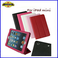 "for ipad mini Leather Case, 7.9"" Leather Case Stand Cover, Laudtec"