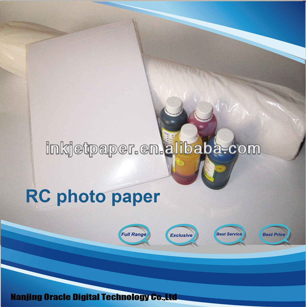 premium silk rc photo paper,A4/4R/Roll size