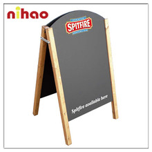 Outdoor Advertising Wood Standing Blackboard