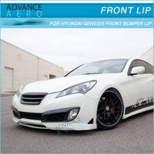 FOR 10-12 HYUNDAI GENESIS COUPE PU TC STYLE FRONT BUMPER LIP SPOILER BODY KITS