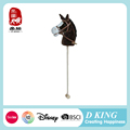 ASTM Hot selling cute wooden stick horse toy