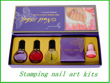 Haute qualité Nail Art Stamping Kit Diy Nail pas cher imprimante <span class=keywords><strong>à</strong></span> <span class=keywords><strong>ongles</strong></span>