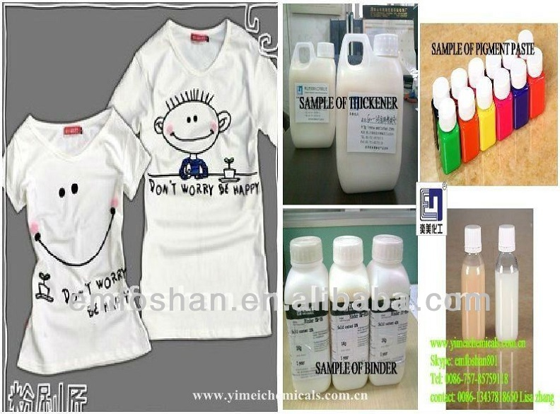 guangdong foshan high rate textile thickening printing chemicals companies in china