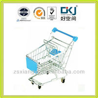 Chrome Plated Gift Mini Shopping Cart/ Mini Shopping Trolley XYM-004AC