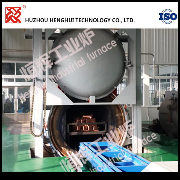 120KW vacuum high temperature steel annealing furnace for mechanical parts