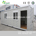 china supplier prefabricated 20ft container houses for food cafeteria