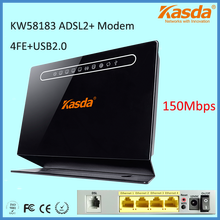 Kasda KW58183 150Mbps ADSL2+ Modem Router with Broadcom Chipset