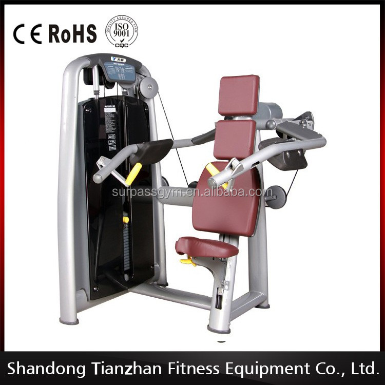 body slimming commercial gym equipment/delt machine /tz-6010