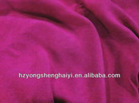 100% polyester faux suede fabric for sofa/suede fabric for boots
