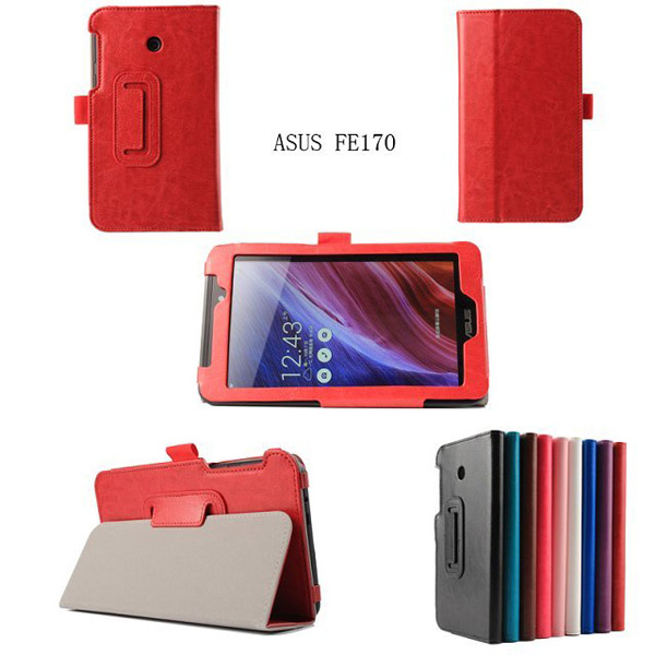 pu leather stand for asus memo pad hd 7 me173 leather case