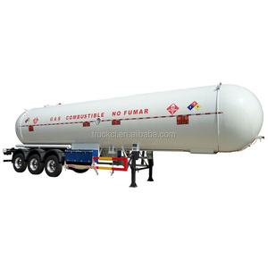 Promotional 50000L anhydrous ammonia lpg transport trailer for sale in Nigeria