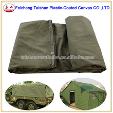 High quality factory price Waterproof canvas fabric,canvas tarpaulin for tent