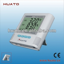 humidity and temperature watches digital alarm thermometer hygrometer temperature and humidity sensor HUATO A2000-TH