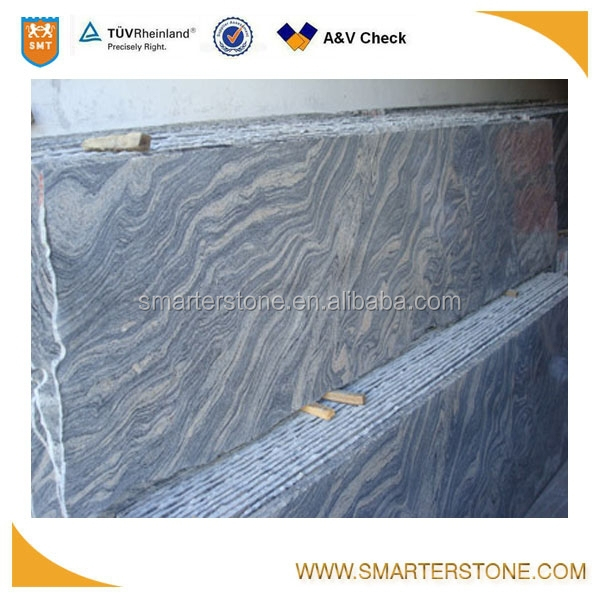 China Juparana polished granite small slab stone