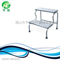Stainless steel medical foot stool / patient step / hospital footstep