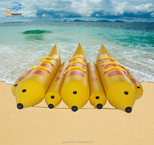 JS TOP quality CE Certificate inflatable water sports game,inflatable floating boat,inflatable banana boat for sale
