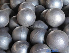high hardness and unbreakable forged grinding steel ball for mines