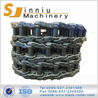 high cost performance blue or black excavator and dozer track link assembly
