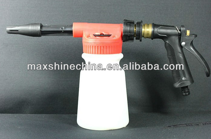 Foam Adjustable Car Wash Water Spray Gun, Foam Wash Gun