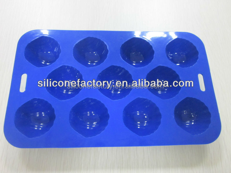 2015 new design FDA and LFGB food grade custom silicone ice trays