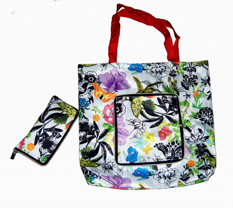 foldable cute shop bags/reusable shopping bags with logo