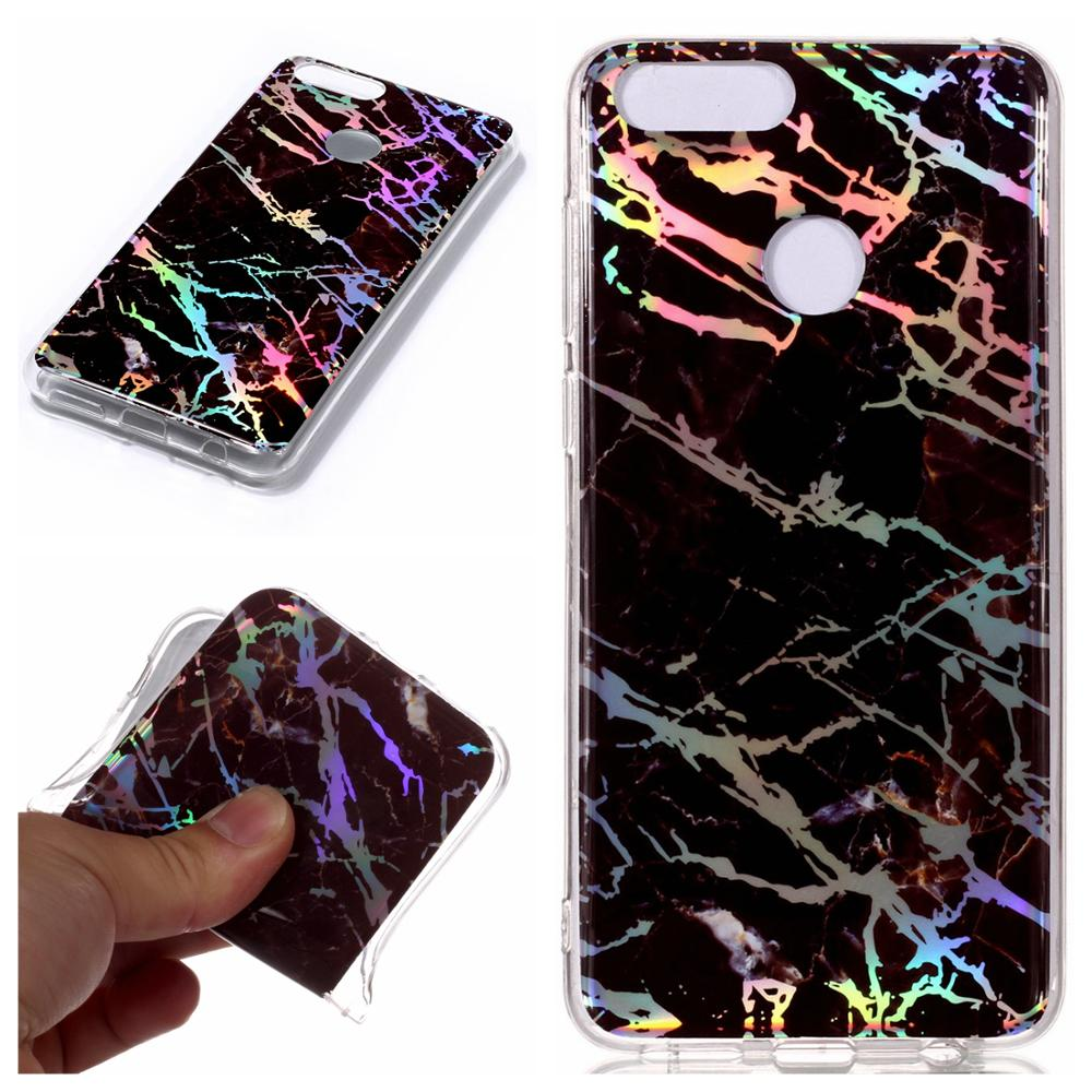 New IMD laser marble tpu phone case for huawei p20 p10 mate lite Honor <strong>y3</strong> y5 Y7 2018