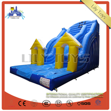 New design inflatable dry slide with CE