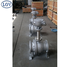 High Quality Silvery Grey Ball Valve Extended Long Stem Trunnion Mounted Ball Valve