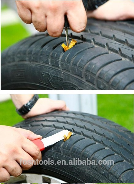 Emergency Repair Radial Tire Kit,35PC repair stripes