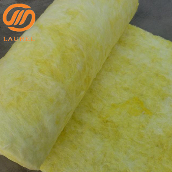 Glasswool blanket with aluminium foil