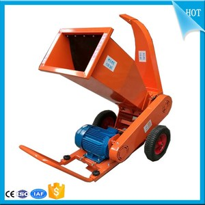 Log branch chipping machine /Wood branch crusher /Grinder for branch