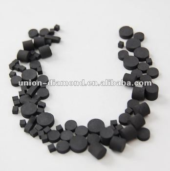 TSP PCD or Thermal Stable Polycrystalline Diamond for drilling bits of oil field
