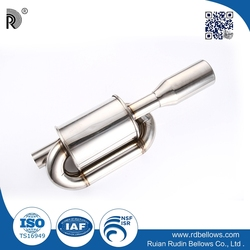 wholesale customed high quality stainless steel exhaust muffler for car